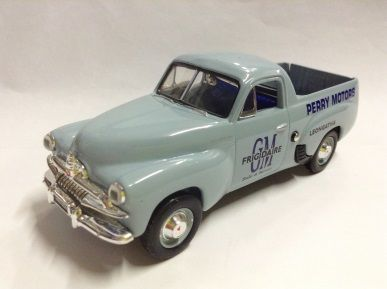 1:43 Classic Carlectables Holden FJ Ute -1953 - Perry Motors - Holden Utilities at Work