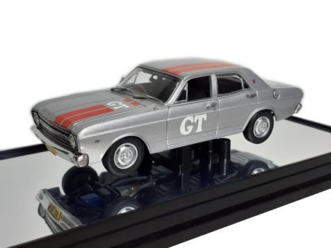 1:43 Classic Carlectables 1967 Ford XR Falcon GT Silver