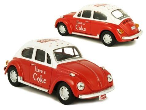 1:43 Motor City Classics Coca-Cola 1966 Volkswagen Beetle 440030