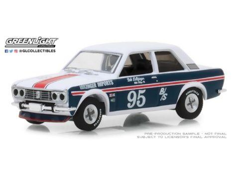 29900-B 1:64 Greenlight 1968 Datsun 510 Silver