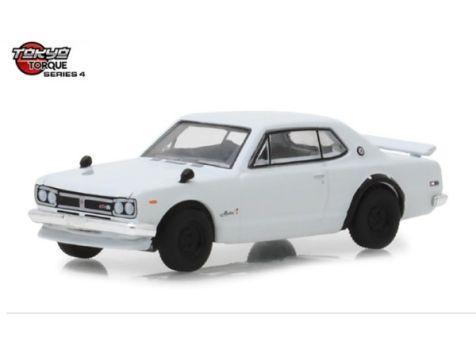 1:64 Greenlight 1971 Nissan Skyline 2000 GT-R