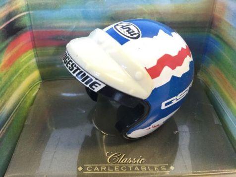 1:6 Classic Carlectables Driver's Helmet Series Glenn Seton Ford Credit Racing 5003