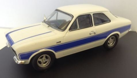 1:43 Trofeu Ford Escort Mk I RS 2000 white and blue