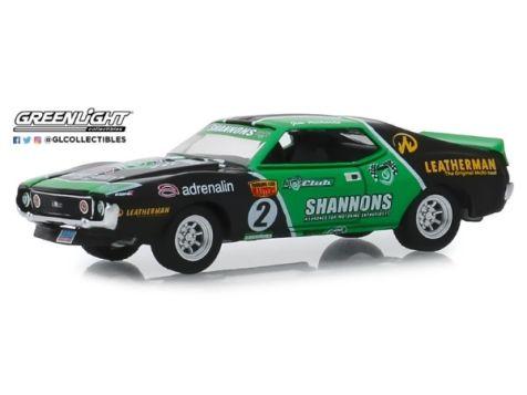 1:64 DDA 1969 Ford Mustang Boss 302 #102 Jim Richards Sidchrome