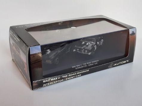 1:43 AUTOart Mad Max 2: The Road Warrior - Interceptor & Enemy Landau