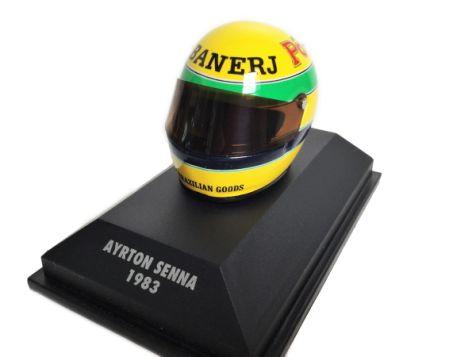 1:8 Minichamps Ayrton Senna 1985 Helmet