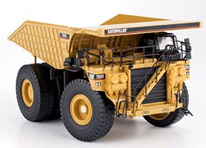 1:50 CAT 793D Off-Highway Truck Performace Plus Body with Metal Railing