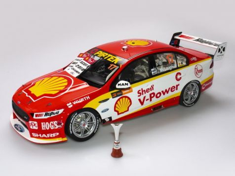 1:12 Authentic Collectables 2018 Ford FGX Falcon #17 Scott McLaughlin V8 Supercars Championship Winner