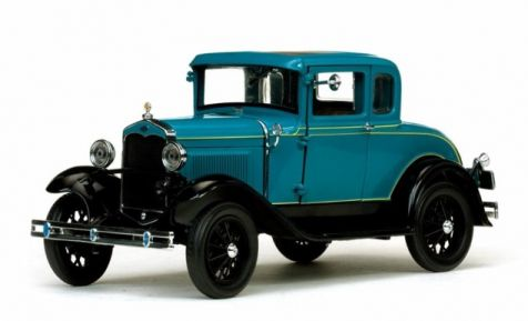 1:18 Sun Star 1931 Ford Model A Coupe Blue