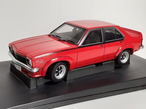 1:18 AUTOart 1974 Holden LH L34 Torana Sedan Salamanca Red
