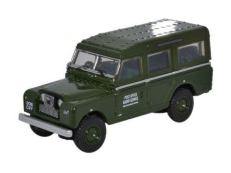 1:76 Oxford Diecast  Land Rover Series II LWB Station Wagon Post Office Telephones