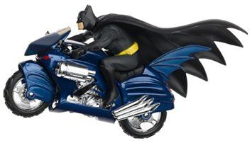 1:16 Corgi 2000 DC Comics Batcycle