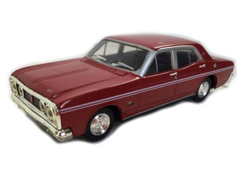1:43 TRAX Ford XT Falcon GT  - Candy Apple Red diecast model