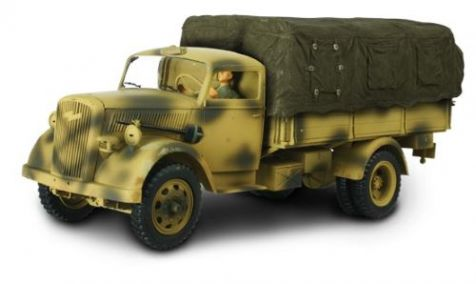 1:32 Forces of Valor German 3 Ton Cargo Truck (Covered - No Figures) - Eastern Front  diecast military model