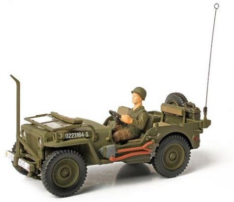 1:32 Forces of Valor US Willys-Overland Jeep - Unidentified Unit, Normandy, 1944