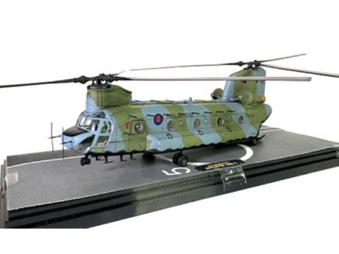 """1:72 Forces of Valor Boeing Chinook HC1 Mk-1 """"BN"""" No. 18 Sqn ZA718"""
