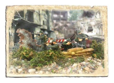 1:32 Forces of Valor Figurine- German 352nd Infantry Division - Normandy 1944diecast model