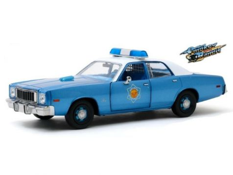 1:24 Greenlight Smokey and the Bandit 1975 Plymouth Fury Arkansas State Police