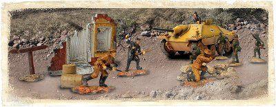 1:72 Forces of Valor (Battle Extreme) German Hetzer - & Soldiers Set - Eastern Front 1944