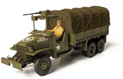 1:72 Forces of Valor GMC. 2½ Ton Open Cab Cargo Truck - Ardennes 1944  diecast military model