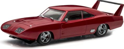 1:43 Greenlight Model: Fast and Furious -Dom's Dodge Charger Daytona diecast model car