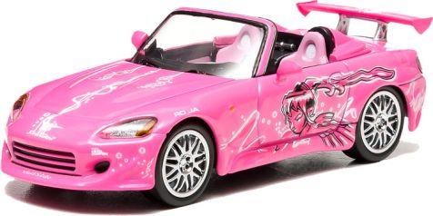 1:43 Greenlight Model: Fast and Furious Suki's 2001 Honda S2000 diecast model car