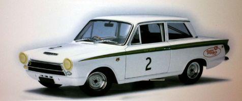 1:18 Autoart Ford Cortina Mk1 1964 Sandown 6 hour Allan Moffat #2 diecast model car