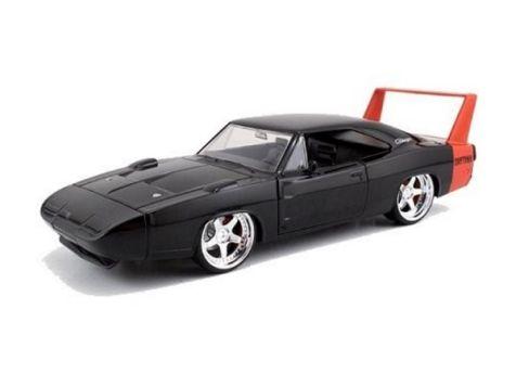 1:24 Jada 1969 Dodge Charger Daytona Black
