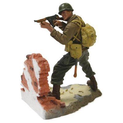 1:32 Forces of Valor Figurine- 101st Airborne 1st Lt. Johnson - Normandy 1944 diecast model