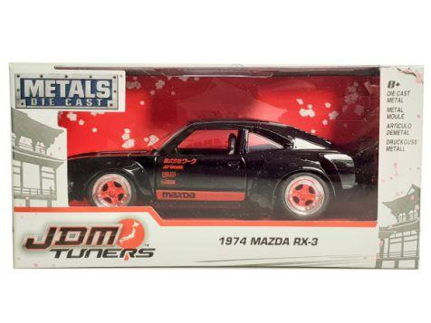 1:32 Jada JDM Tuners 1974 Mazda RX-3 Metallic Yellow 30958