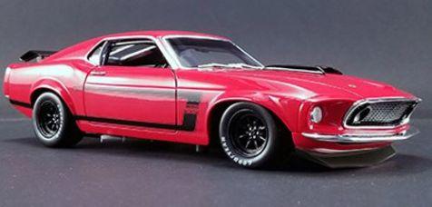 1:18 DDA 1969 Boss 302 Trans-Am Ford Mustang - Street Version