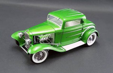 1:18 ACME Grand National Deuce Series 1932 Ford 3 Window Release No.6 # A1805011