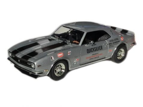 1:18 ACME 1968 Quicksilver Chevrolet Drag Camaro - LE of 672 - A1805702