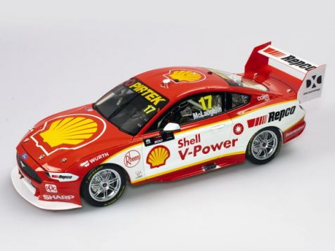 ACD18F19A 1:18 Authentic Collectibles 2019 Ford Mustang GT #17 Scott McLaughlin Season Car