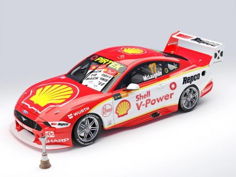 PREORDER 1:64 Authentic Collectibles 2019 Ford Mustang GT #17 Scott McLaughlin Championship Winner