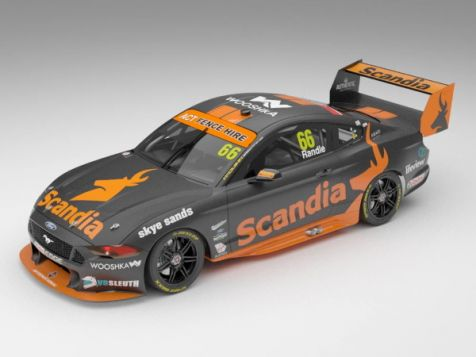 1:18 Authentic Collectibles 2019 Ford Mustang GT #66 Thomas Randle