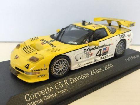1:43 Spark Corvette C6-R 24hr of SPA 2006 #34 Menten/Belloc/Bornhauser/Bouvy S0177