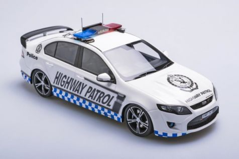 1:18 ApexReplicas Ford FPV FG GT R-Spec in NSW Highway Patrol Livery