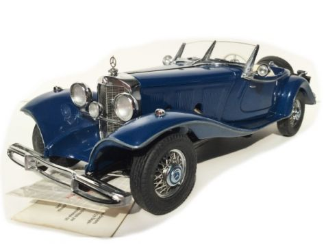 1:24 Franklin Mint 1935 Mercedes 500 K Special Roadster