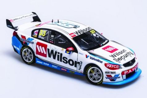 1:18 Biante - Holden VF Commodore - Wilson Security Racing GRM - #33 Garth Tander - 2017 Supercars Championship