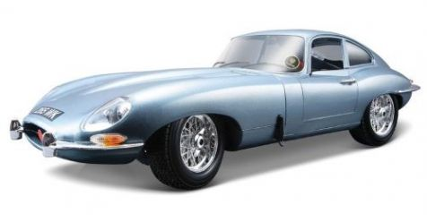 1:18 Bburago Jaguar E-Type Coupe in Metallic Blue 12044