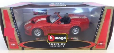 1:24 Superior Ford Cobra 427 S/C SS7718W