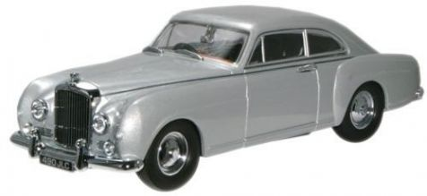 1:43 Oxford Diecast Bentley S1 Continental Fastback Shell Grey BCF001