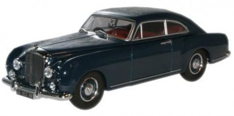 1:43 Oxford Diecast Bentley S1 Continental Fastback Dawn Blue BCF002