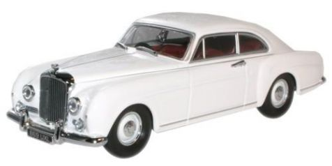 1:43 Oxford Diecast Bentley Continental Olympic White BCF003