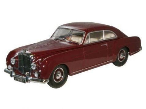 1:43 Oxford Diecast Bentley Continental S1 Fastback Maroon BCF005