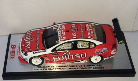 1:43 Biante 2010 Holden VE Commodore - Fujitsu Racing GRM - V8 Supercar Championship Series #33 Driver Lee Holdsworth