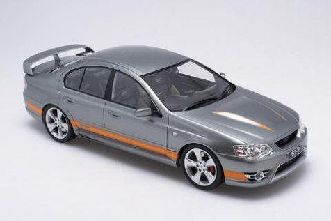 PREORDER 1:18 Biante Ford FPV BF GT-P Falcon - Mercury Silver