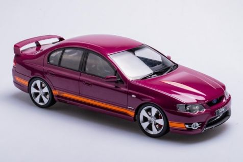1:18 Biante Ford FPV BF GT in Menace with Orange Stripes