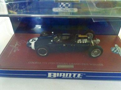 1:43 Biante Cooper T51 1959 Italian GP Winner #14 Stirling Moss BR43701G